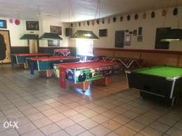 Pub , Grill and pool hall for sale