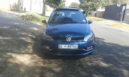 2016 VW Polo TSI 1.2 DSG Leather Seat, Automatic, Sunroof, Service Boo