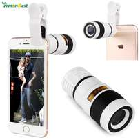 8x Optical Zoom Telescope Phone Camera Lens With Universal Clip Holder