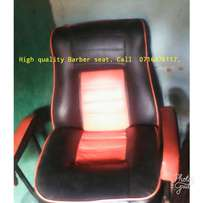 High quality Barber seat. Call NUMBER on picture