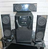 Brand New Hisonic 3speakers with bluetooth sound system