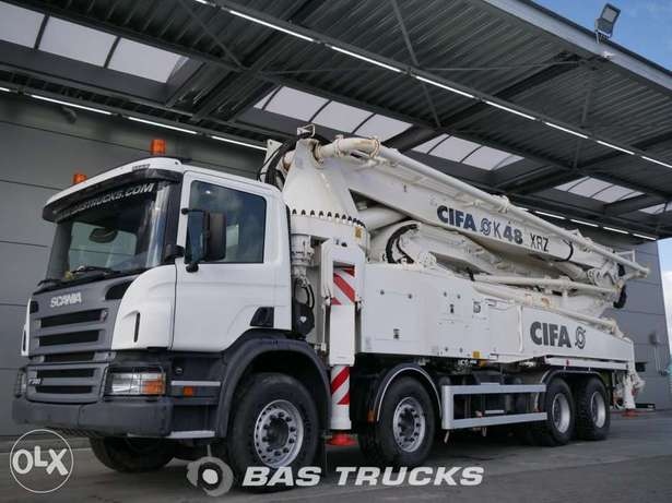 Scania P380 Cifa 48m. Boom - To be Imported Lekki - image 1