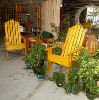 Adirondack Chair - Kit form, easy to assemble, ultra comfy chair