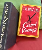 """The Casual Vacancy"" Hardback Book by J.K. Rowling"