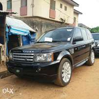 Tokunbo Range Rover Sport (Supercharged) - 2008