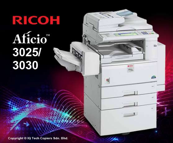 Ricoh aficio 3030 fully equipped with printer duplex and ADF high spee Nairobi CBD - image 1