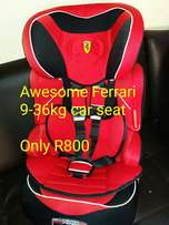 Awesome Ferrari 9-36kg car chair available