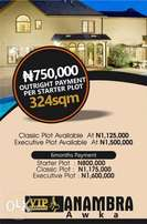 LIFETIME OPPORTUNITY. Own a Vip plot in Anambra