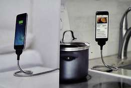 Cable Data Coil Brace For Android and iPhone