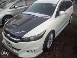 Honda stream RSZ sports version just arrived fully loaded