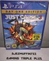 just cause 3 sealed ps4 gaming