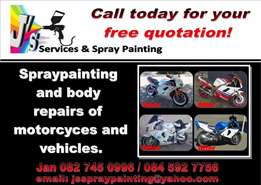 Spraypainting & Body repairs