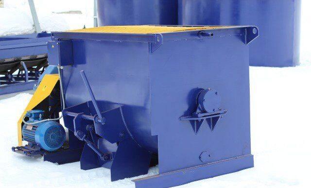 ZZBO Одновальный бетоносмеситель бп-1Г-450