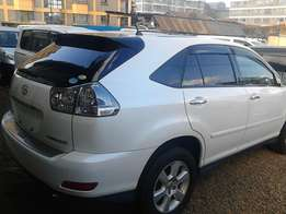 Toyota harrier 2wd petrol engine auto alloy rims