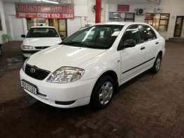 2003 Toyota Corolla 140i GLE with 142000km, Full Service History