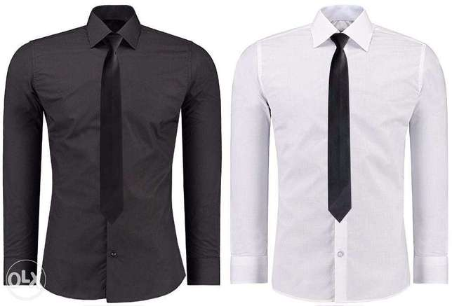 Blue and Navy Blue Official Shirts for Men 2 Pack Nairobi CBD - image 2