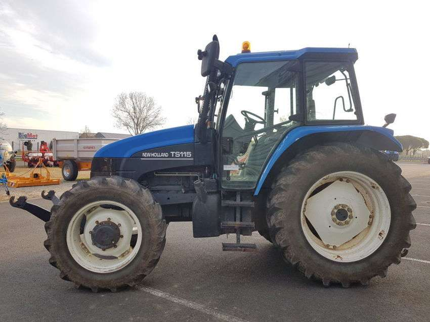 New Holland ts115 - 2001 for sale - Specifications | Tradus