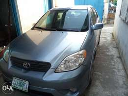 Clean months used first body Toyota matrix XR 10 months used
