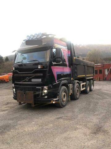 Volvo FH16.540 SOON EXPECTED 8X4 FULL STEEL VEB+ H - 2012