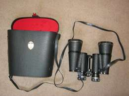 Binoculars 10 x 50 with case in excellent condition