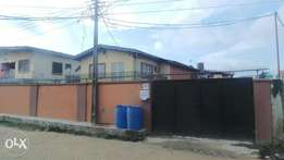 A Storey Building for Sale in Ijesha Surulere with C of O