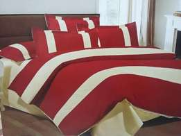 Cotton duvet covers.