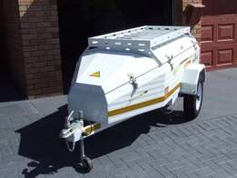 Challenger 310 luggage trailer