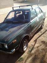 Selling a toyota corolla sprinter 2t engine19 80 model still running