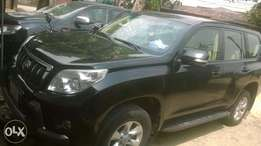 2012 Toyota Prado first body fabric 4plugs with spare tyre at the back