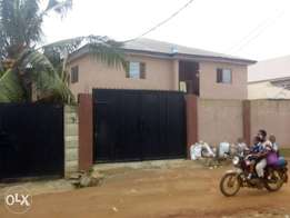 A story building of eight numbers of two bed room flat at Igando