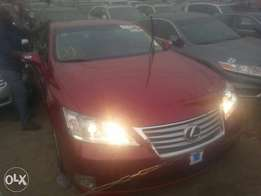 Tincan cleared tokunbo lexus es350 011 keyless fuloption
