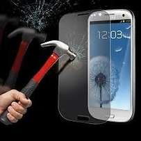 Tempered Glass Screens For Samsung, Sony And iPhone