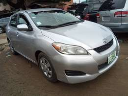Toyota Matrix registered  2010 model