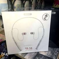 Ahube Store : REMAX RB-S6 Neckband Bluetooth Earphone | White