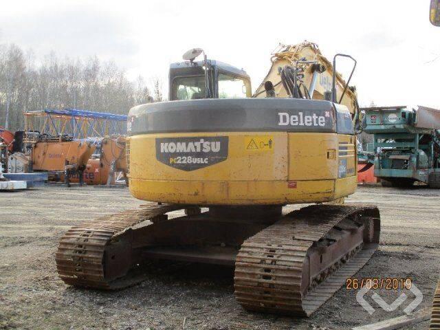 Komatsu PC228 USLC Crawler Excavator - 08 - 2008 - image 3