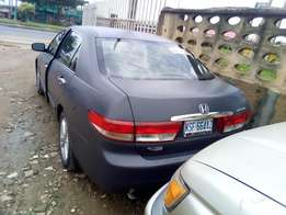 Very clean Honda accord 03 not to fix