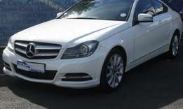 2013 Mercedes Benz C180 BE Coupe Automatic