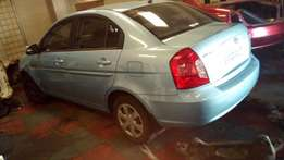 Hyundai 2009 with G4ED CCVT Engine Stripping for Spares