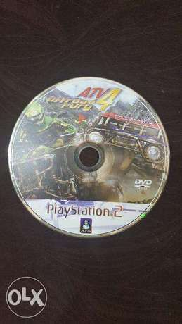 ATV 4 Off Road Fury Play Station 2 DVD