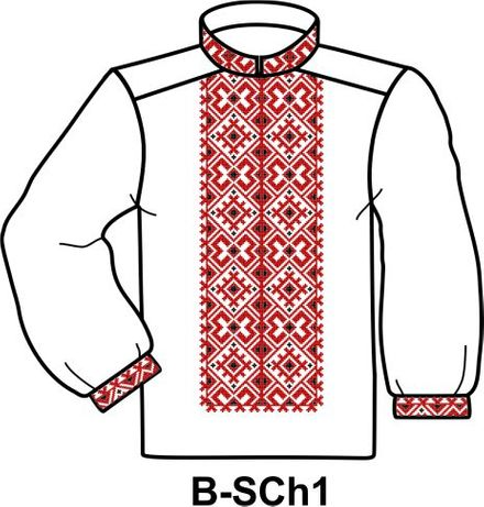 Заготовка для вишивання чоловічої сорочки бісером або нитками Тернополь -  изображение 1 c7713be77b45e