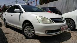 Toyota Allion, Pearl white, Year 2007, Airbags, Armrrsts ,Cupholders..