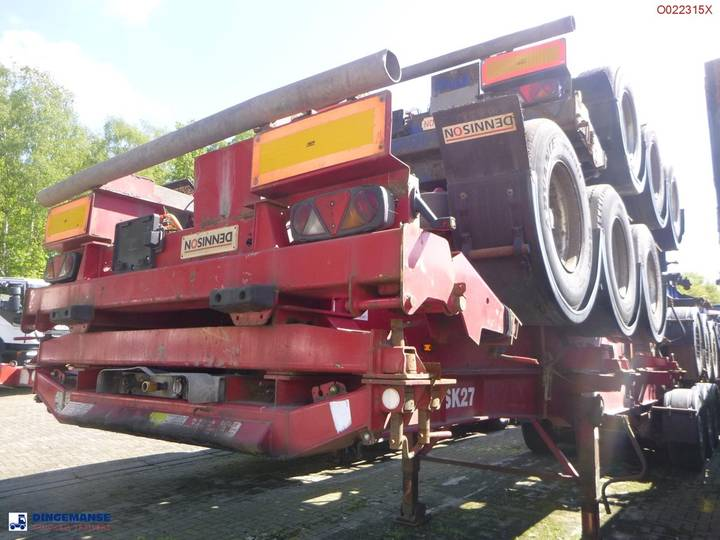 Dennison Stack - 4 x container trailer 30-40-45 ft - 2008