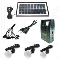 High quality solar light with FM radio