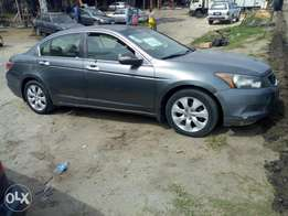 Very clean used Honda accord evil spirit 2009