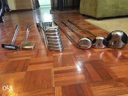 A set of golf clubs(driver+woods+irons+golf bag)for quick sale
