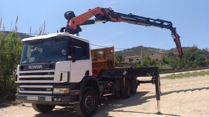 Scania CAMION GRUA  310 6X2 2000 PALFINGER PK 44002 2008 - 2000
