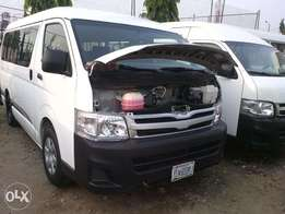 Cleanest 2013 Tokunbo standard Toyota Hiace bus Full options
