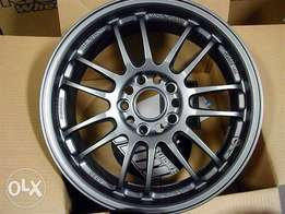 Volk RE30 for a S2000 black 17X9 35 offset