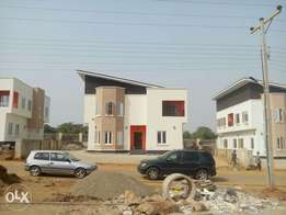 A brand new 5bedroom detached Duplex with 1room BQ at Lifecamp Distric