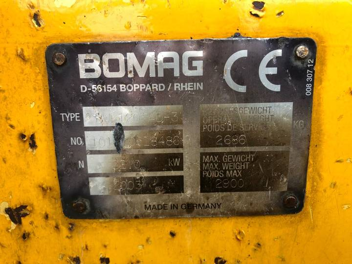 BOMAG BW 120 AD-3 Tandem wals - 2003 - image 6